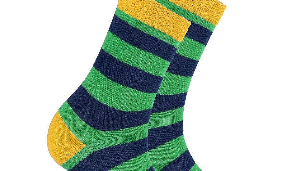 Women's Carrot Leaf Stripe Socks