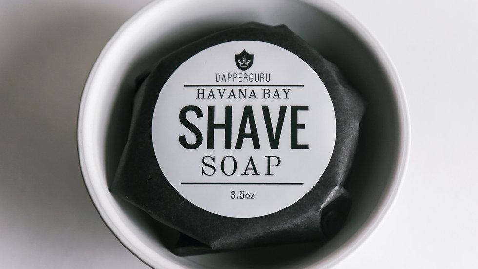Havana Bay Shave Soap
