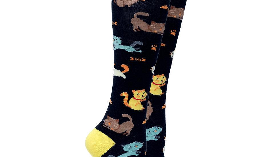 Women's Kittens Knee High Socks