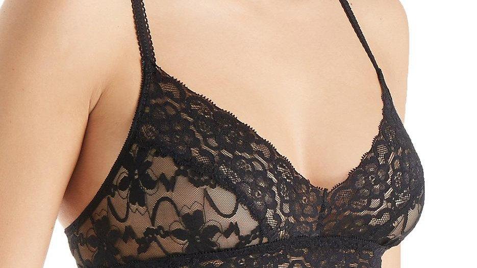 Semisheer Lace Bralette