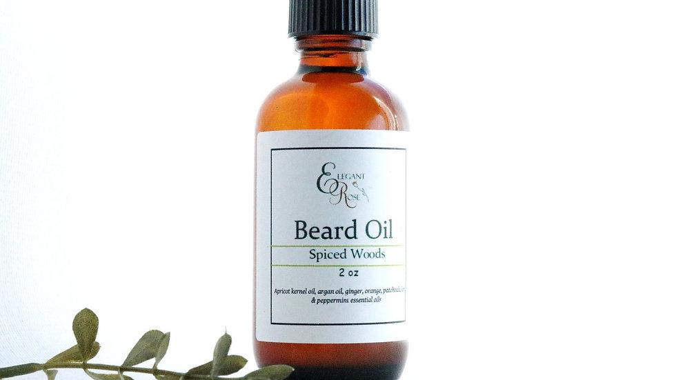 Spiced Woods Natural Beard Oil - Beard