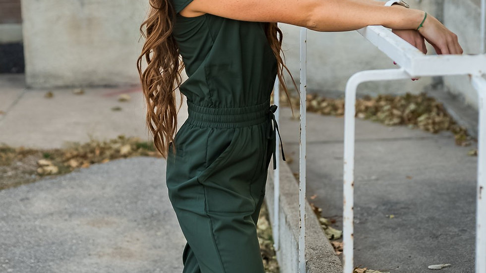 DT UNITY Jumpsuit in Green Canyon