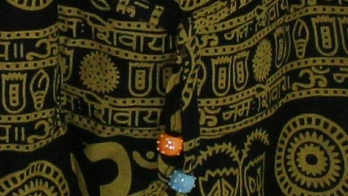 Om Peace Symbol High Waist Bootcut Yoga Pants