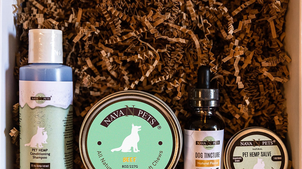 Haute Dog Organic Hemp Box USDA