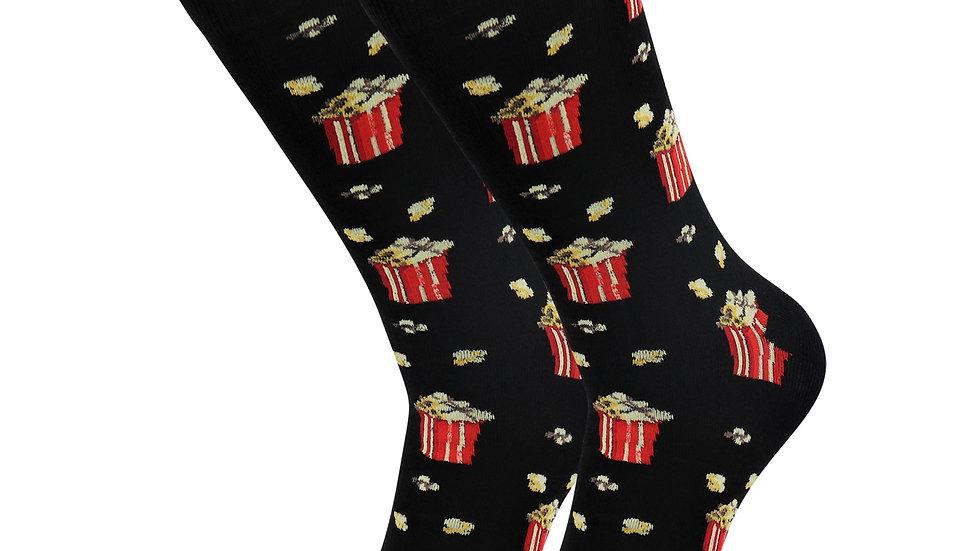 Sick Socks – Popcorn – Favorite Foods Casual Dress Socks
