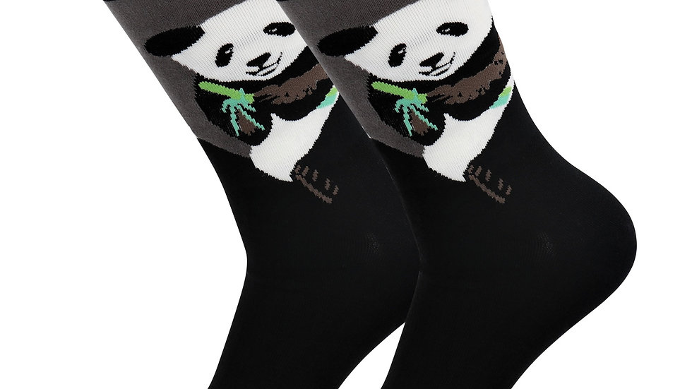 Sick Socks – Panda  –  AnimalCasual Dress Socks