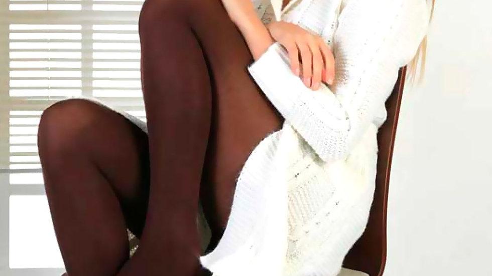 Thermal Pantyhose Brown