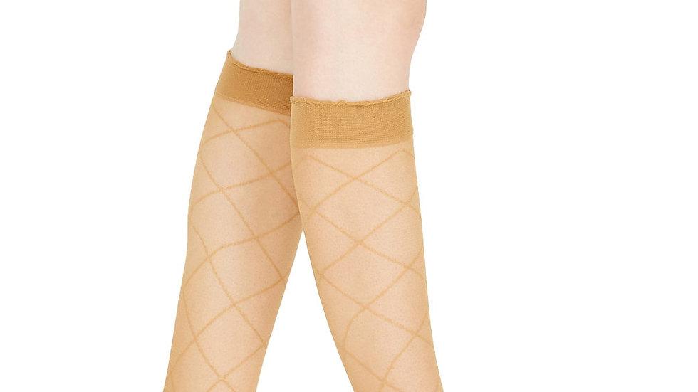Sexy Haughty Love Baklava Pattern Knee Socks