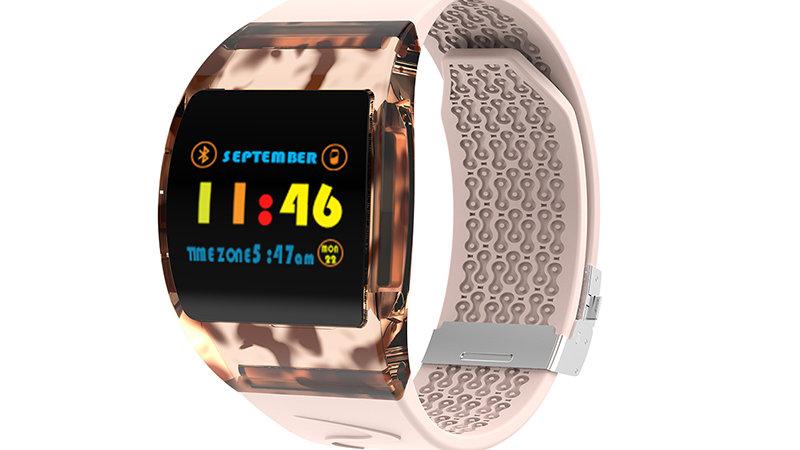 Smart Watch Health Monitoring Arc Glass Bracelet