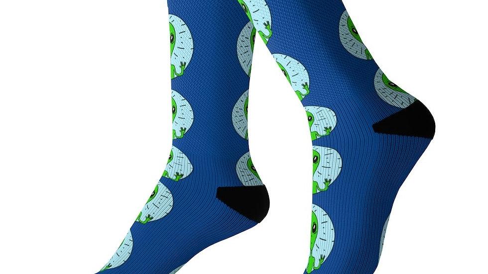 Weirdi Alien Socks
