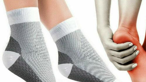 Foot Anti Fatigue Compression Varicosity Ankle Support Socks SP