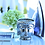 Thumbnail: Metallic Silver Buddha 3-Wick Scented Candle