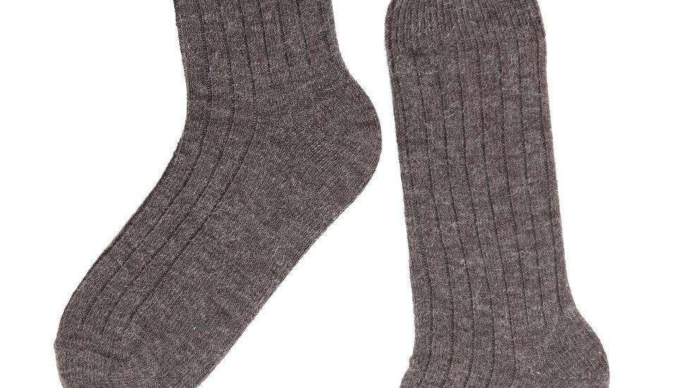 ALPAKA brown socks