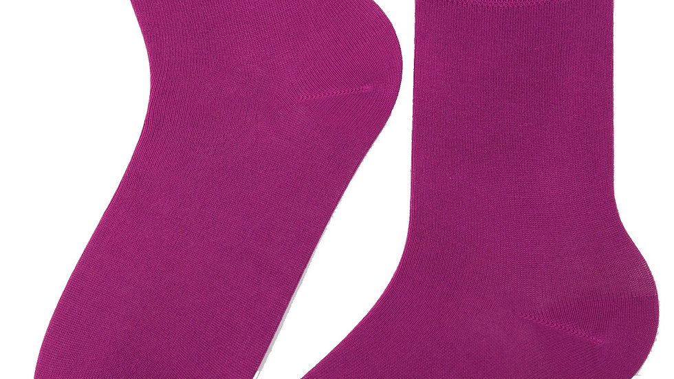 JANNE women's lilac socks