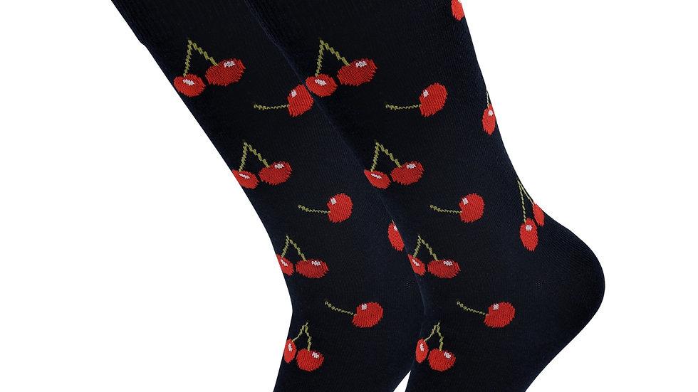 Sick Socks – Cherry – Down on the Farm Socks For Women