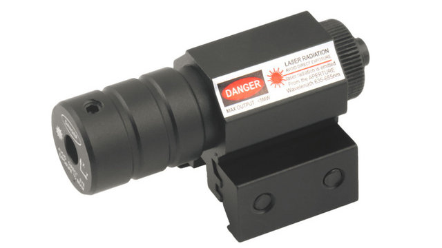 1 Set Tactical Red Laser Beam Dot Sight Scope red