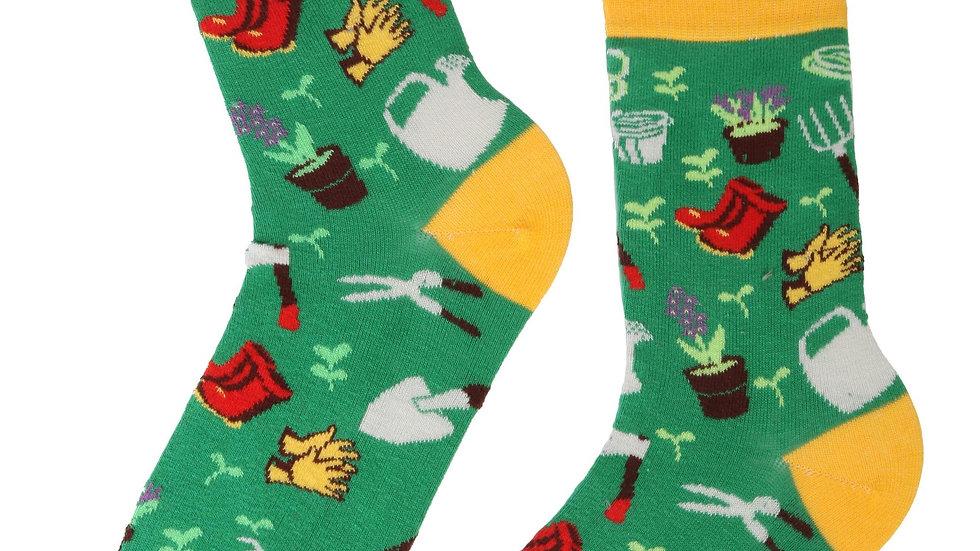 GARDEN cotton socks for horticultural lovers