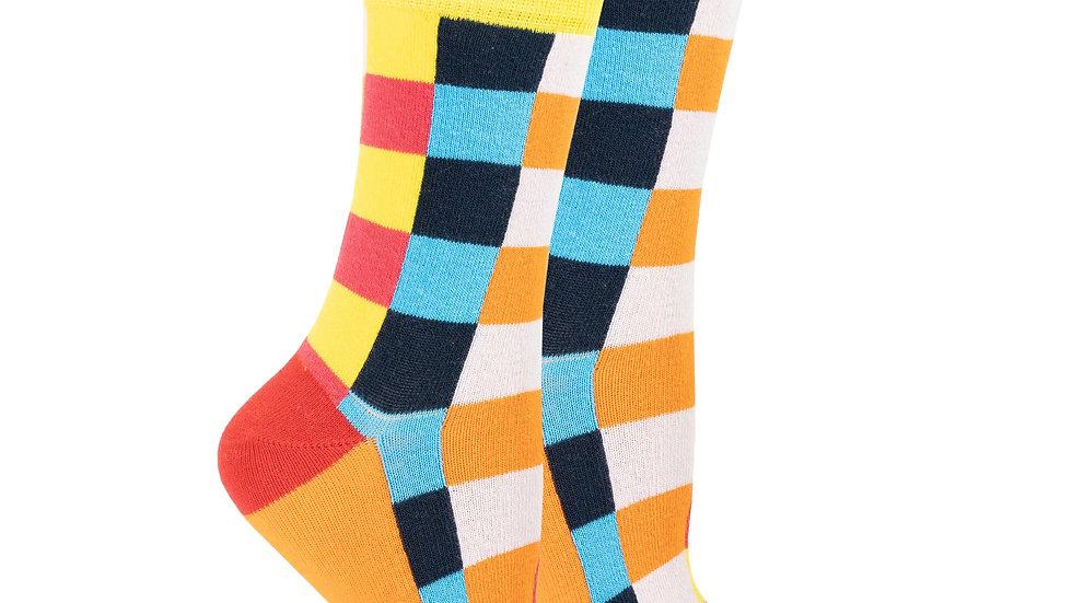 Women's Canary Square Socks