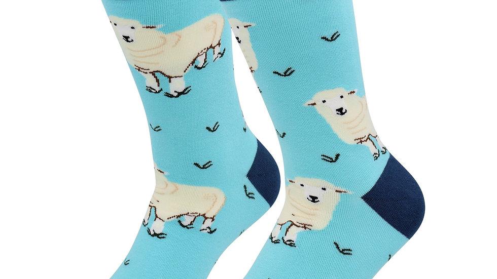 Sick Socks – Sheep – Down on the Farm Casual Dress Socks