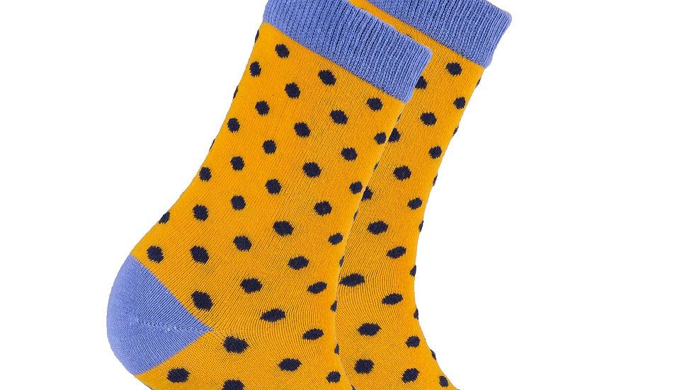 Women's Apricot Dot Socks