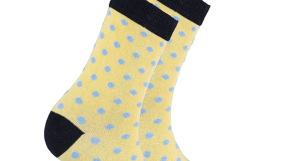 Women's Buttermilk Dot Socks