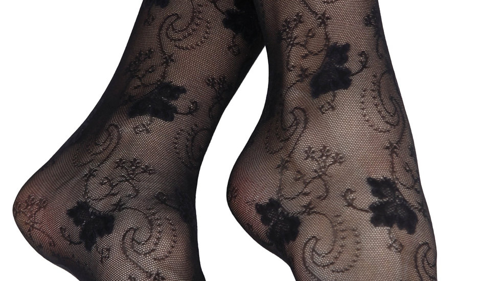 ELIA 20DEN sheer black socks