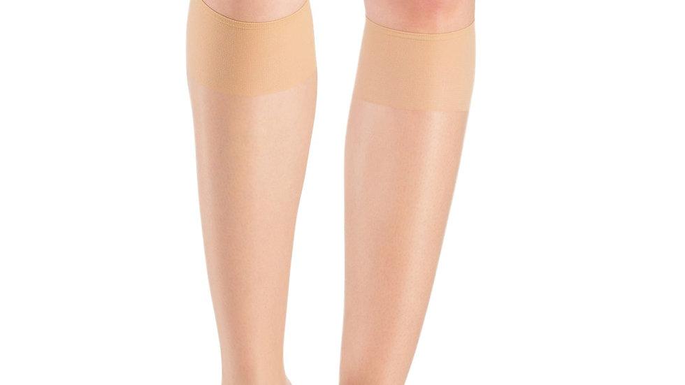 Super Thin 15 Denier Trouser Socks Brown