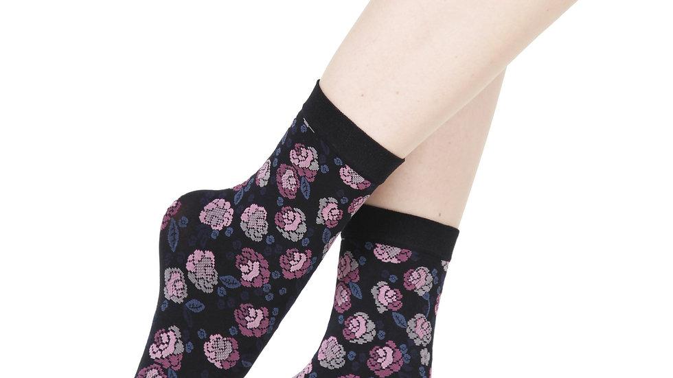 LISETTE lilac 60 DENIER socks for women