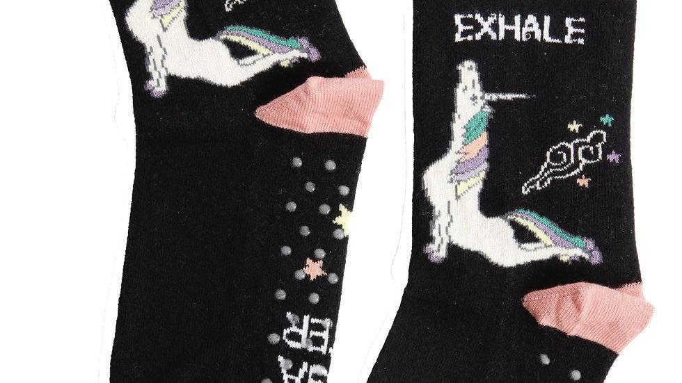 EXHALE anti-slip cotton socks