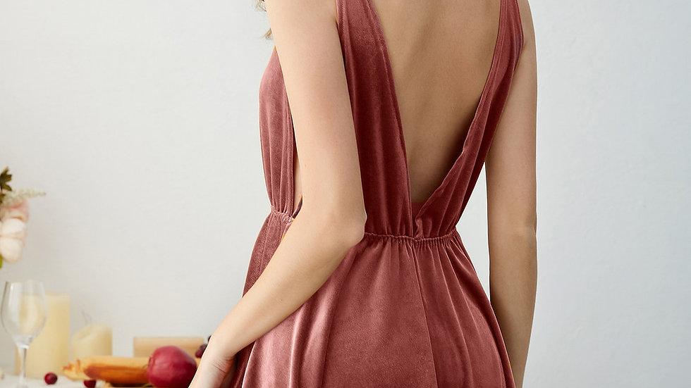 Velvet Night Dress