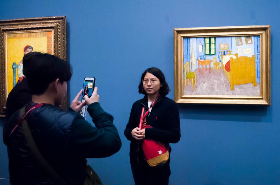 Vincent Van Gogh, Bedroom in Arles, Musée d'Orsay