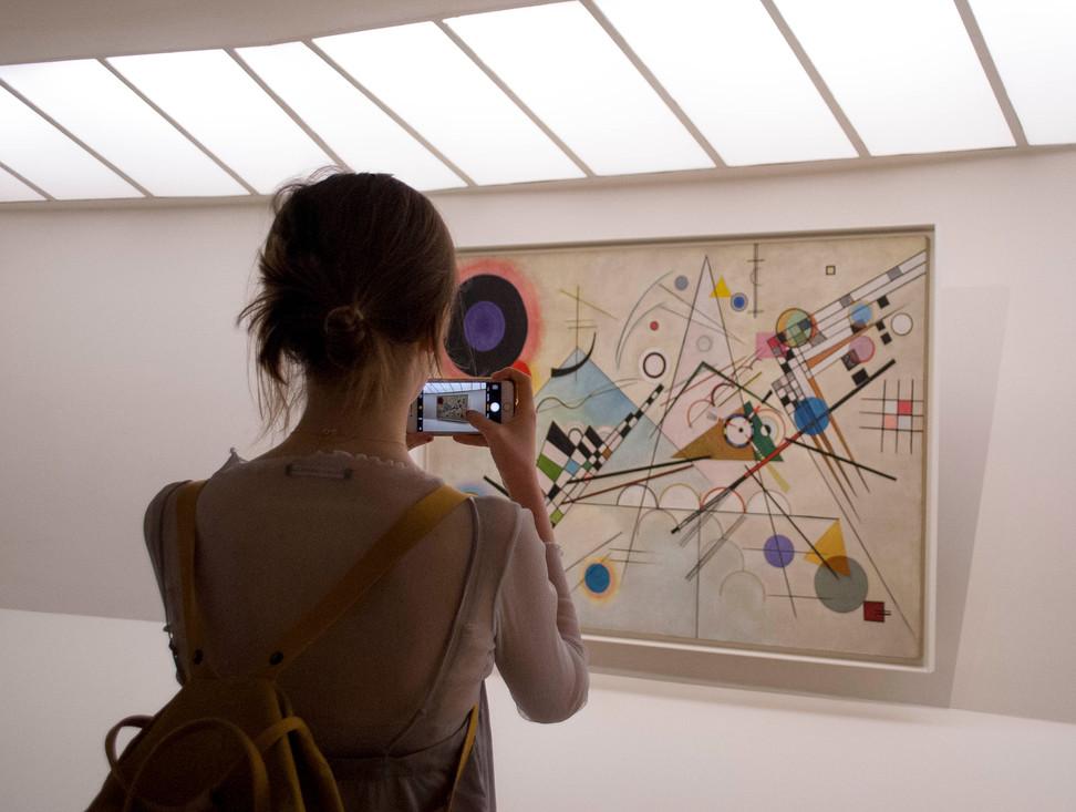 Wassily Kandinsky, Composition 8, Guggenheim