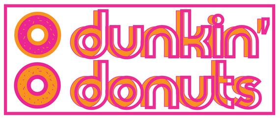 Mock Dunkin logo