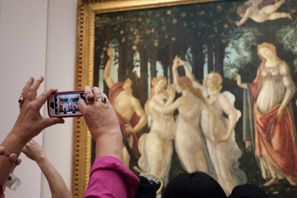 Sandro Botticelli, Primavera, Uffizi