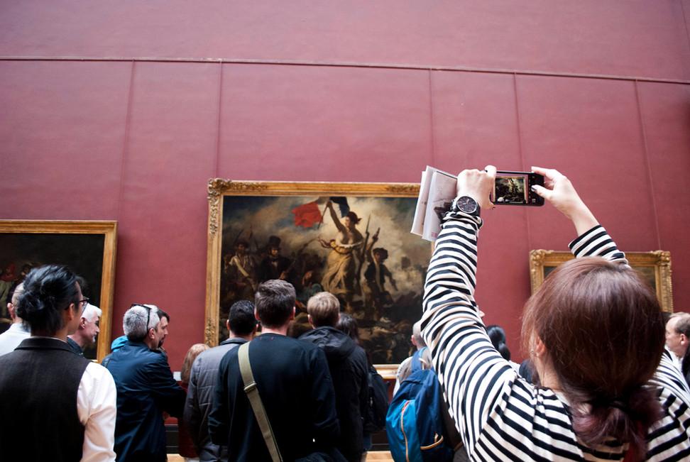 Eugène Delacroix, Liberty Leading the People, Louvre