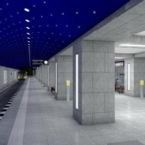 Neuer Bahnhof Museumsinsel der U5 eröffnet am 9. Juli 2021