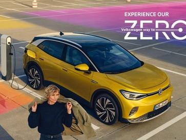 """""""Experience our Way to Zero"""" im DRIVEVolkswagen Ausstellung rund um e-Mobilität."""