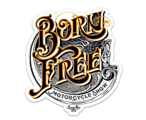 Born Free 11 Limited Edition Vinyl Sticker