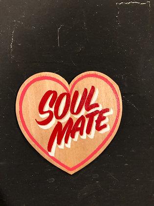 SOUL MATE WOOD HEART