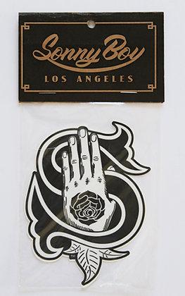 Hand Logo Vinyl Sticker