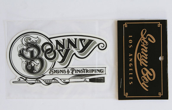 Signs & Pinstriping Vinyl Sticker