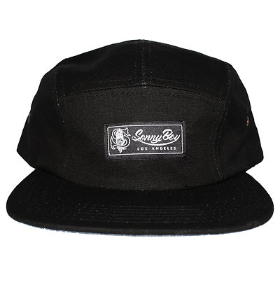 5 Panel Embroidered Tag Hat
