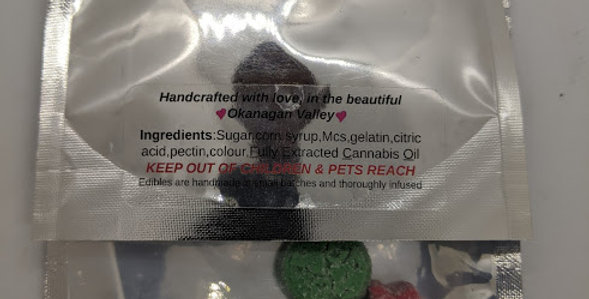 15mg THC/Gummie X 5