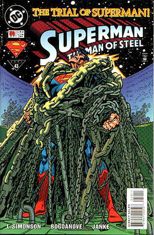 Superman The Man of Steel #50