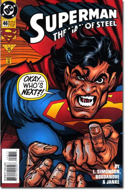 Superman The Man of Steel #46