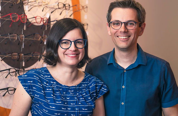 Optiker in Köln Nippes, nippesoptik, Daniel Schaub, Katrin Schaub