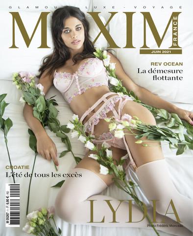 MAXIM couverture Lydia Bielen.jpg