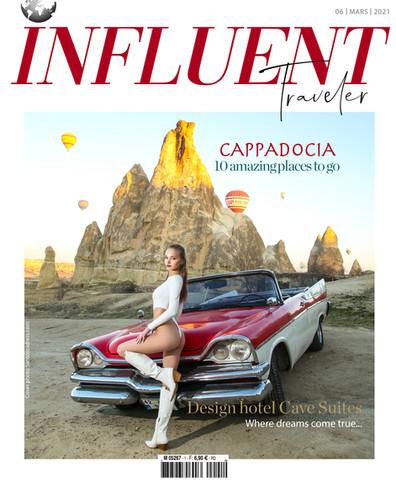 PETROVSKAIA DARIA COVER GIRL INFLUENT TRAVELER