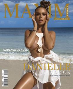 MARION DANIELLE COVER GIRL MAXIM FRANCE BELGIQUE