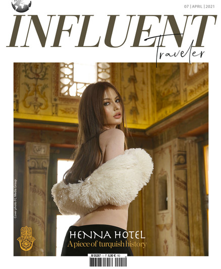 PANEVSKAIA ALINA COVER GIRL INFLUENT TRAVELER